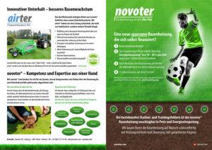 airter® von Novokraft AG Basel - Rasenheizung